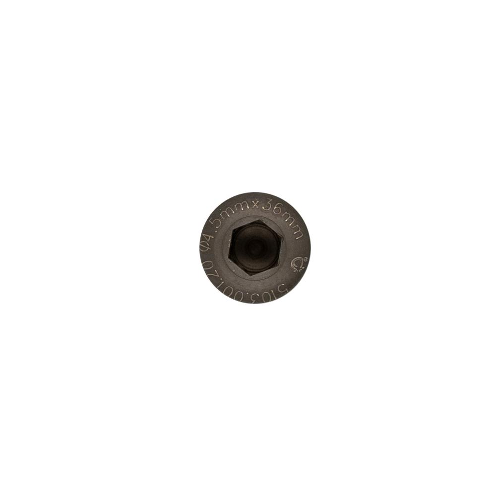 Cortical Screw (Hexagonal) 4.5 mm, Self Tapping, Titanium
