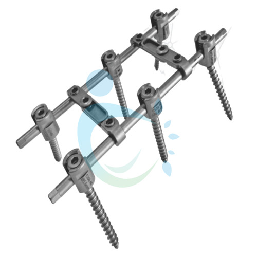 Monoaxial Screw Fixation System